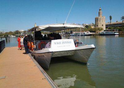 Crucero y Paseo por el Rio Guadalquivir de Sevilla