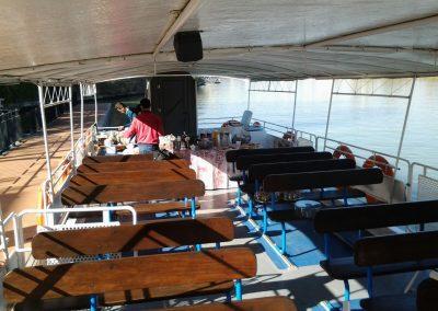 Crucero por el Rio Guadalquivir, Catamaran M. San Antonio